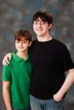 Brothers Stock Photo