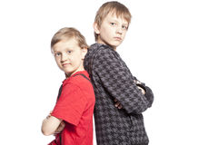Brothers posing Stock Photos