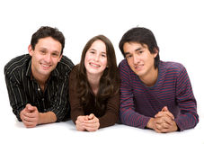 Brothers and sister portrait Royalty Free Stock Photo