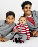 Brothers Three Stock Photos