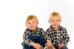 Brothers Together  Royalty Free Stock Photos
