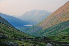 Brothers Water from Kirkstone Pass. Royalty Free Stock Image