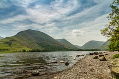 Brothers water, Lake district national park. Brothers Water is a small lake in the Hartsop valley, in the eastern region of the Lake District in England. Once royalty free stock photos
