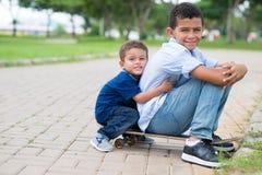 Brothers?vriendschap Royalty-vrije Stock Fotografie