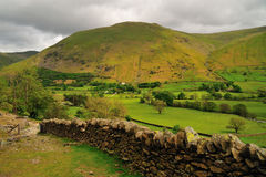 Brotherswater Valley Royalty Free Stock Images