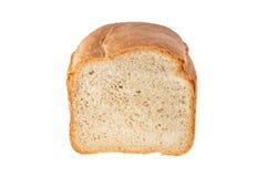Brotlaib auf dem Schnitt Stockfotos
