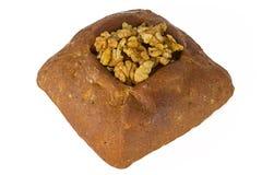 Brotlaib mit Nüssen Lizenzfreies Stockbild