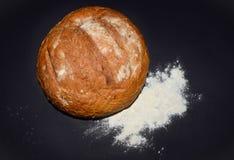 Brotmehl lokalisiert Lizenzfreies Stockfoto