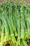 Brotos orgânicos do alho Fundo do alimento Fotografia de Stock Royalty Free