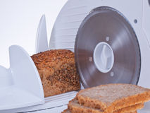 Brotschneidmaschine Stockfoto