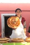 Brotshop im Ferghanatal Stockbild