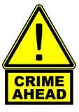 Brott framåt mer mitt portf?ljtecken undertecknar varning royaltyfri illustrationer