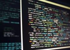 Brotts- dator för cyberspacebedrägeri som phishing Royaltyfri Bild
