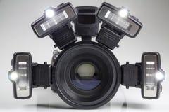Brotts- kamera för platsutredningdslr Royaltyfria Foton