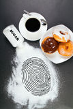 brotts- matskräp Arkivbild