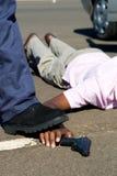 brottslig polis Royaltyfri Fotografi