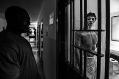 Brottsligt psykiatriskt sjukhus Royaltyfria Foton