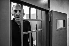 Brottsligt psykiatriskt sjukhus Arkivbilder