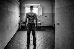 Brottsligt psykiatriskt sjukhus Arkivfoton
