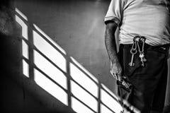 Brottsligt psykiatriskt sjukhus Royaltyfria Bilder