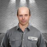 Brottsling i fängelse arkivbilder