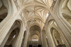 Brou, church interior Royalty Free Stock Photos