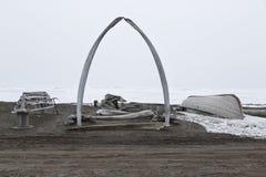 Brouette Alaska Image libre de droits