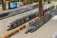 Brouette de bagage Photo libre de droits