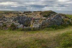Brouette de Ballowall près de StJust, les Cornouailles photos libres de droits