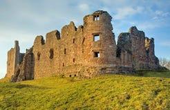 brough κάστρο στοκ εικόνα