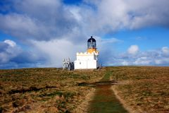 Brough of Birsay Lighthouse Stock Images