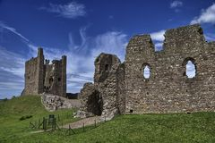 Brough Castle Royalty Free Stock Photos