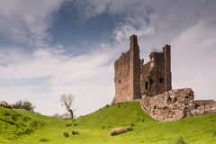 Brough Castle Keep Royalty Free Stock Photography