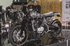 Brough Superior motobike at EICMA 2014 in Milan, Italy Stock Images