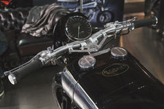 Brough Superior motobike at EICMA 2014 in Milan, Italy Royalty Free Stock Photos