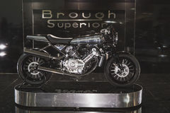 Brough Superior motobike at EICMA 2014 in Milan, Italy Stock Image