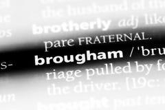 brougham zdjęcie royalty free