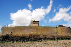 Broughty Castle at Broughty Ferry Royalty Free Stock Photos