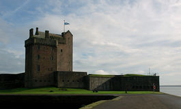 Broughty Castle. Royalty Free Stock Photo
