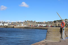 Broughty Ferry waterfront on River Tay, Scotland Royalty Free Stock Photo