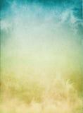 Brouillard bleu jaune Image libre de droits