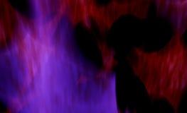 Brouillard cosmique abstrait de couleur Photo libre de droits