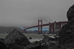 Brouillard d'été à San Francisco 2018 Photos libres de droits
