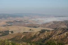 Brouillard dans le pays Images libres de droits