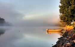 brouillard de bateau Image libre de droits
