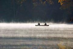 Brouillard de matin Images libres de droits