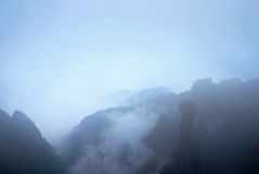 brouillard de nuage photo stock