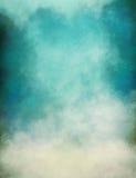 Brouillard de vert bleu Photos libres de droits