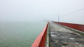 Brouillard et nature Image libre de droits
