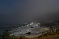 brouillard mystérieux Image libre de droits